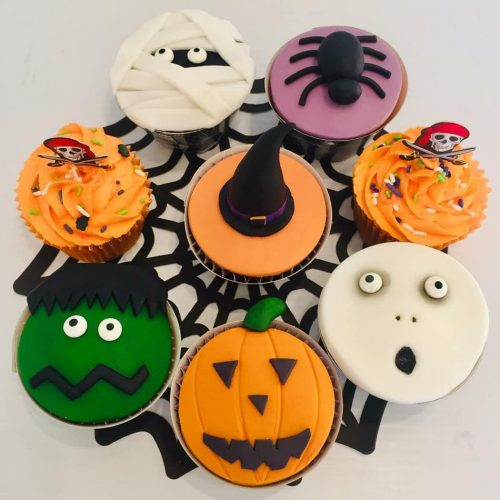 Halloween Cuocake Decorating At Cloughan Farm & Cookery School With Marian Malone From Special Occasion Cakes